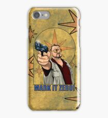 Walter from the Big Lebowski iPhone Case/Skin