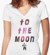 written in the stars Women's Fitted V-Neck T-Shirt