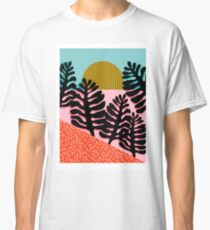 B.F.F. - throwback 80s style memphis design neon art print hipster brooklyn palm springs resort pattern dots palms desert  Classic T-Shirt