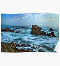 Rock Ocean Poster