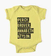 Percy, Grover, Annabeth & Tyson One Piece - Short Sleeve