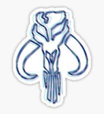 Bounty Hunter Emblem (Alkali Scheme) Sticker