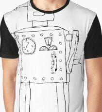 robot vintage toy cute art Graphic T-Shirt
