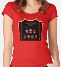PLEASE SELECT STUDENT Women's Fitted Scoop T-Shirt