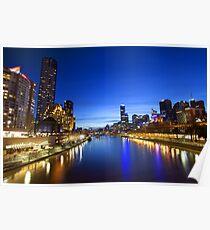Melbourne Princess Bridge Poster
