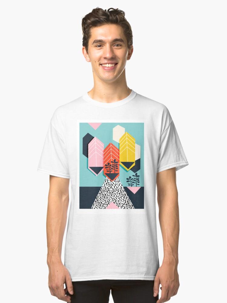 Legit - throwback 80s style memphis neon texture art print pop art dorm  college hipster trendy urban brooklyn palm springs | Classic T-Shirt
