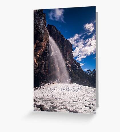 Taranaki Falls Greeting Card