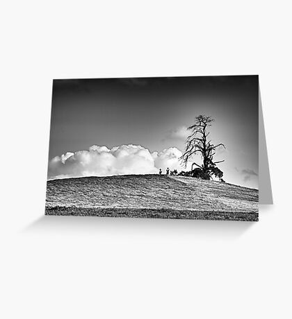 The Top of the Hill Greeting Card