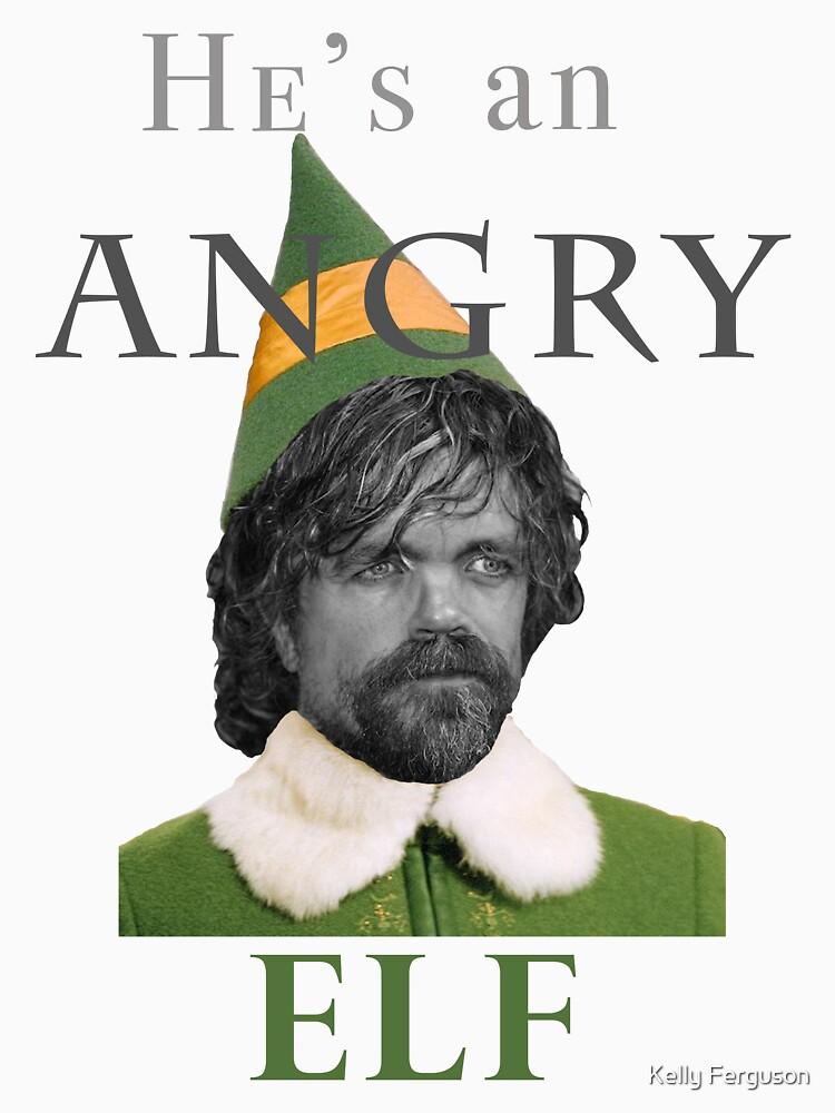 Angry Elf  by Kelly-Ferguson
