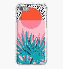 Whoa - palm sunrise southwest california palm beach sun city los angeles hawaii palm springs resort decor iPhone Case/Skin
