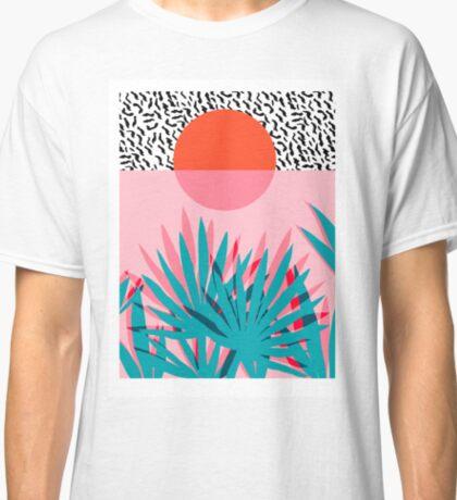 Whoa - palm sunrise southwest california palm beach sun city los angeles hawaii palm springs resort decor Classic T-Shirt