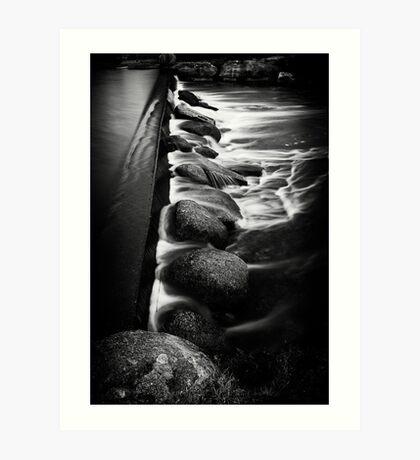 The Weir Art Print