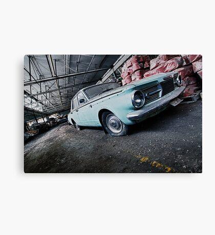 The Getaway Car Canvas Print
