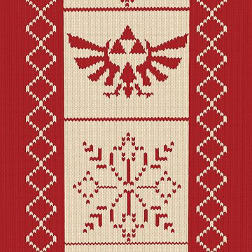 Nerdy Christmas Sweater: Zelda by MinetteMona