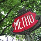 Paris: Metro by David Mapletoft