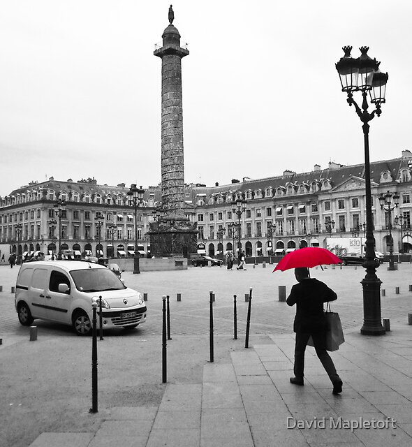 Paris: Red Rain by David Mapletoft