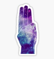 The Hunger Games Sign Galaxy Sticker