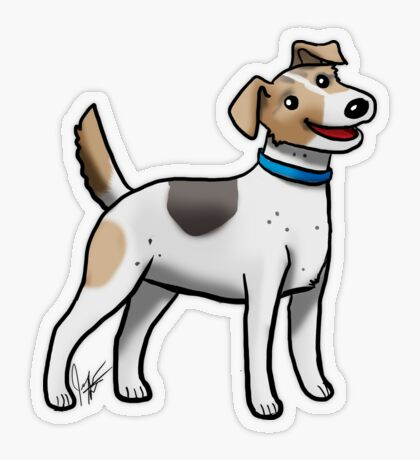 Jack Russell Terrier Transparent Sticker