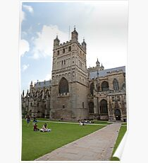 Exeter Cathedral, Exeter, Devon. Poster