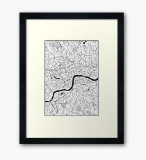 London Toner Poster Framed Print