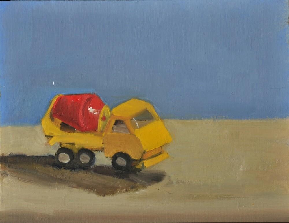 toy cement truck by joycecolburn