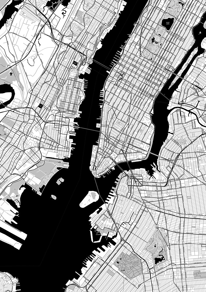 New York Toner Poster by Traut1