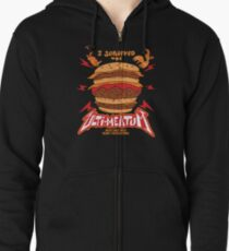Ulti-Meat Bragging Rights Zipped Hoodie