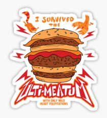 Ulti-Meat Bragging Rights Sticker
