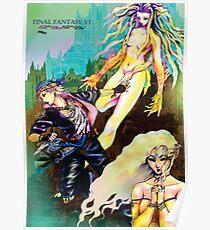 Final fantasy 6 group Poster