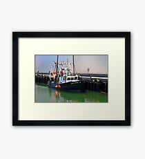 Cat Eyes Fishing vessel  Framed Print