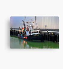 Cat Eyes Fishing vessel  Canvas Print