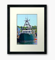 Osprey Fishing Vessel Framed Print