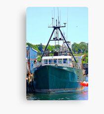 Osprey Fishing Vessel Canvas Print