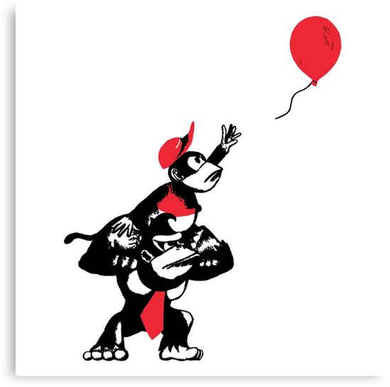 Balloon Apes by merimeaux