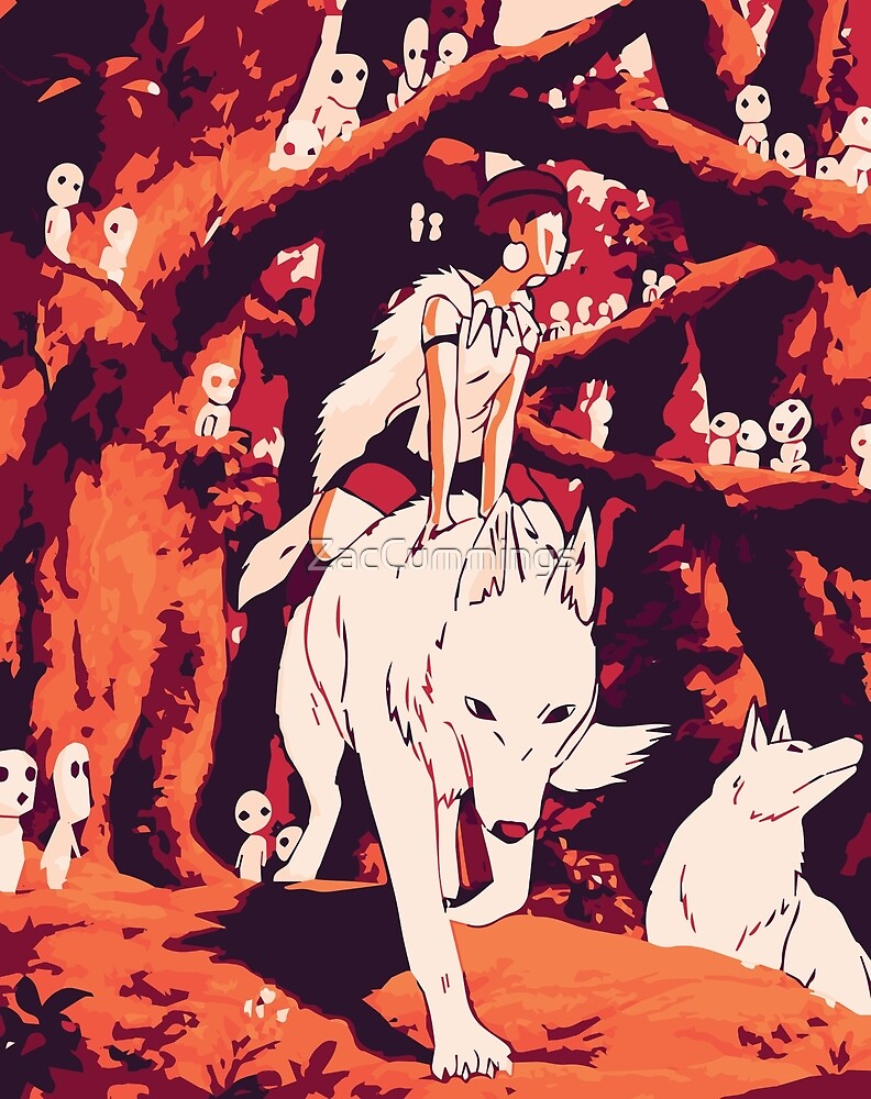 Princess Mononoke by ZacCummings