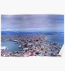 After Snow , Hakodate - Hokkaido , Japan Poster