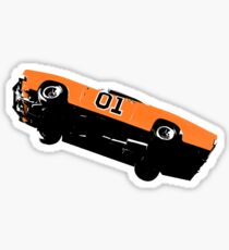 The Dukes Of Hazzard General Lee T-shirt Sticker