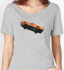 The Dukes Of Hazzard General Lee T-shirt Women's Relaxed Fit T-Shirt