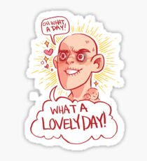 OH What a day! Sticker