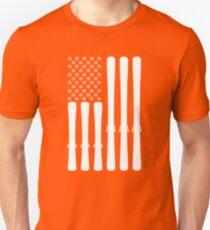 USA Ski Flag T-Shirt