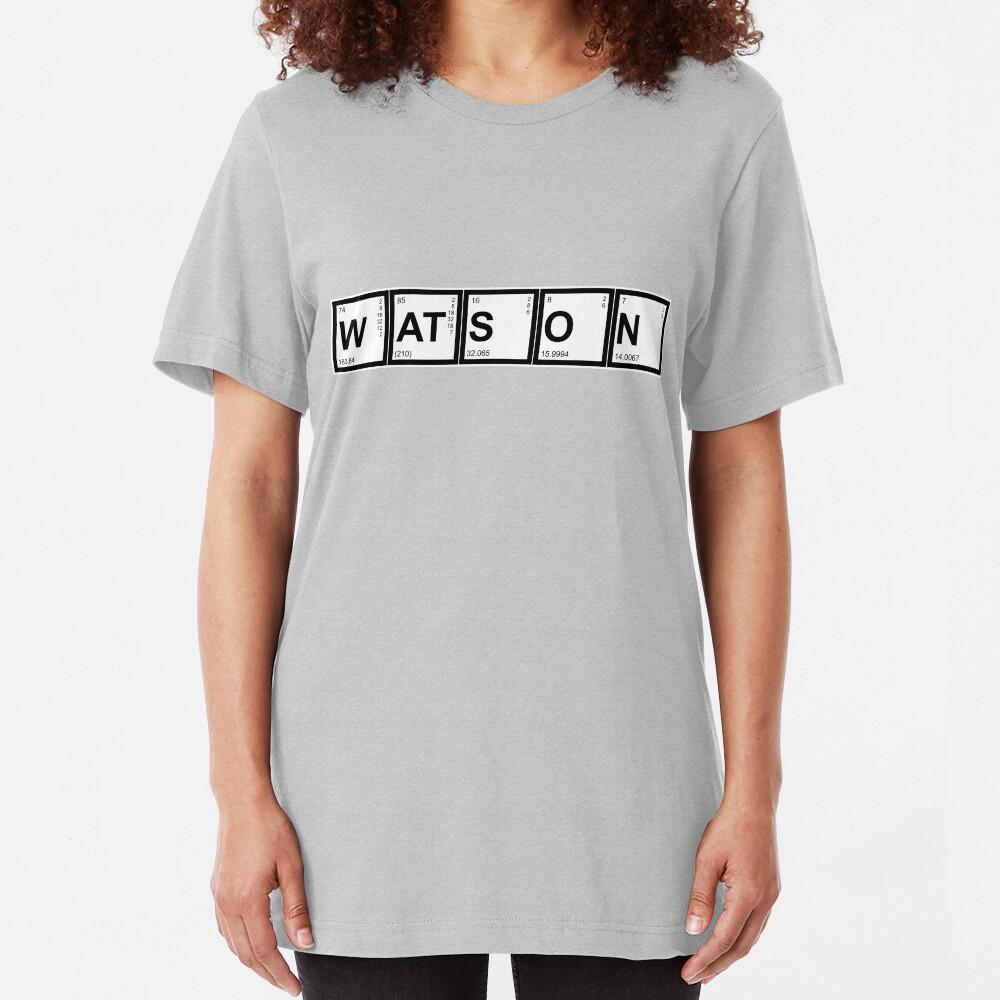 Elementary (My Dear) Watson Slim Fit T-Shirt