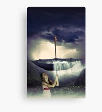 Save it for a rainy day Canvas Print
