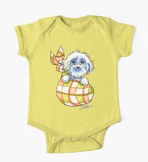 Bichon Frise Puppy Special Delivery Kids Clothes