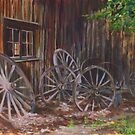 Wagon Wheels by Maureen Whittaker