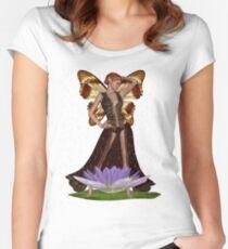 Raindrop Fairy T-Shirt Women's Fitted Scoop T-Shirt