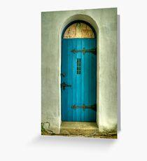 The Chapel Door Greeting Card