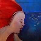 red raven by Ellen Keagy