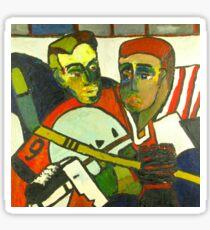 Hockey Players Sticker