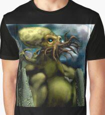 Cthulhu at Ryleh Graphic T-Shirt