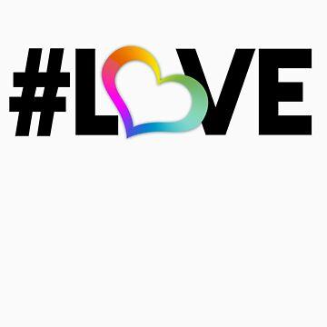 #LOVE (Black) by starlitfury